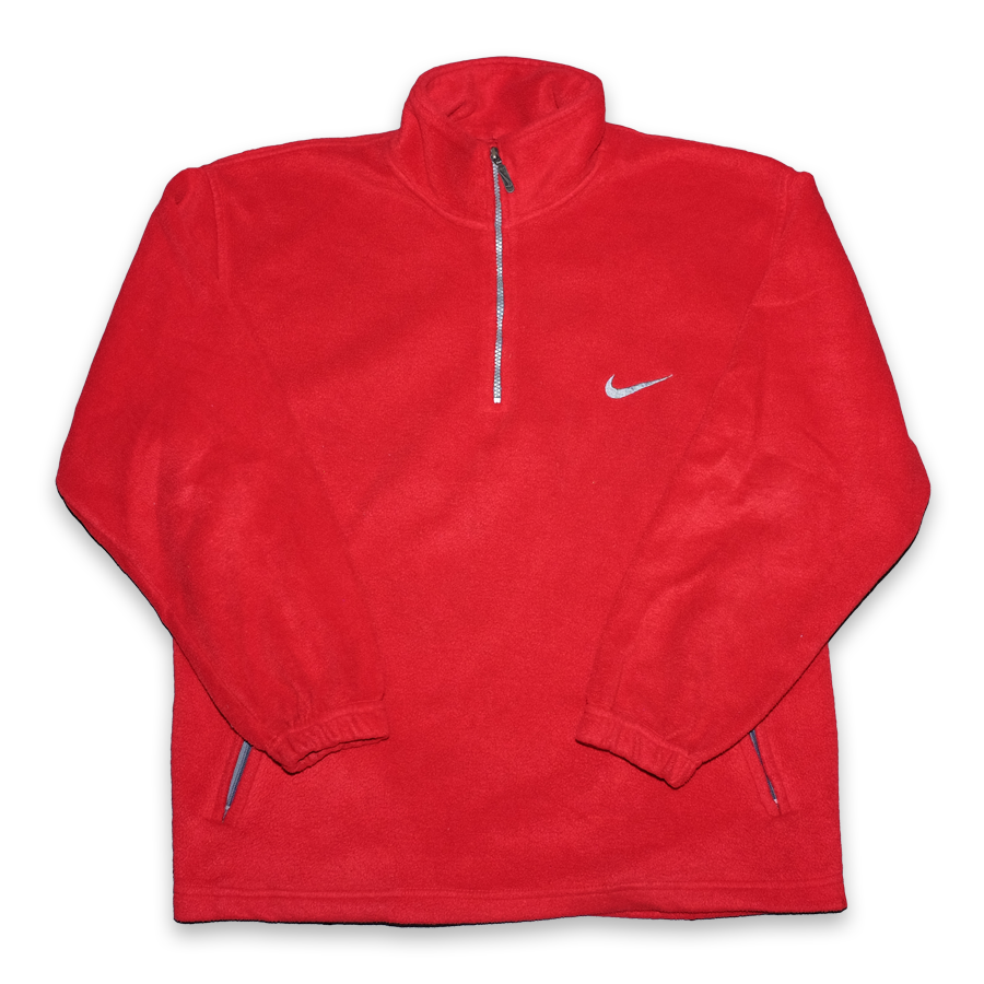 Vintage Nike Q-Zip Fleece Large