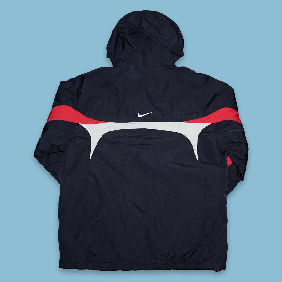 Vintage Nike Hooded Anorak Large