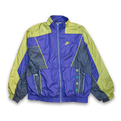972b612fa6 Vintage Nike Windbreaker Jacket with Silver Tag   There is no finish line —  Vintage Klamotten