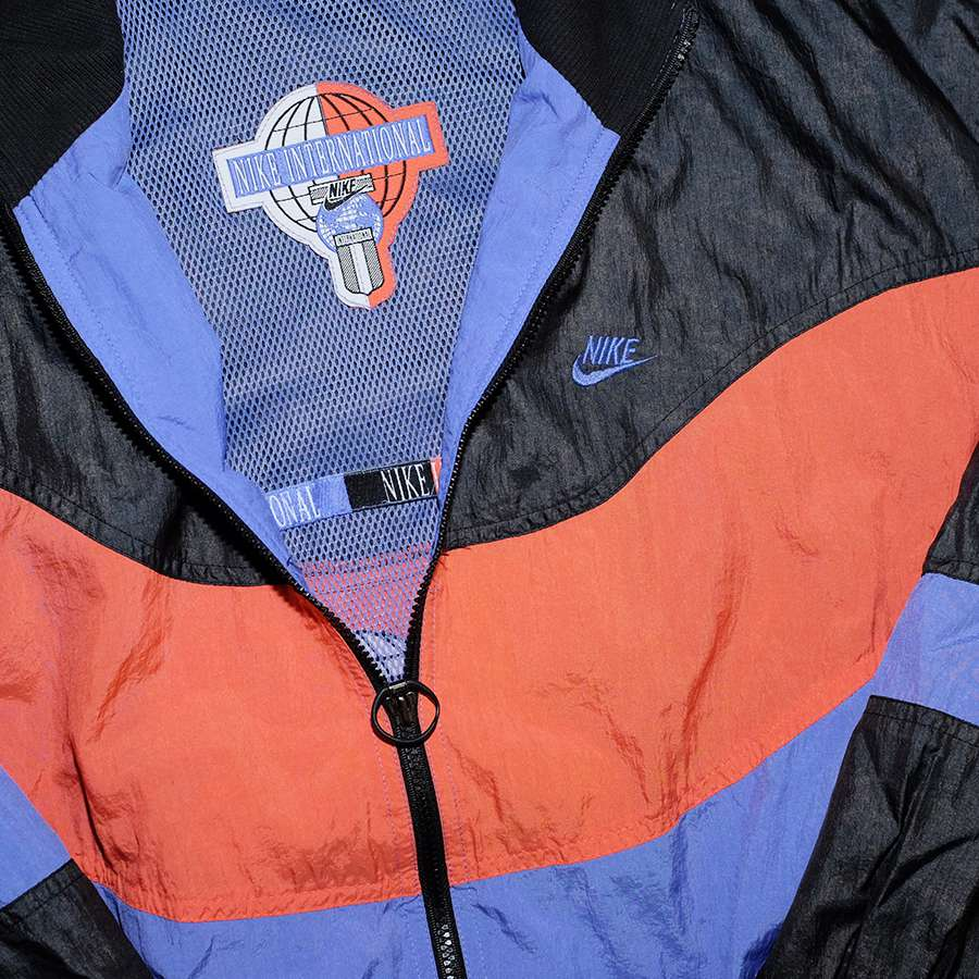 Vintage Nike International Track Jacket Medium
