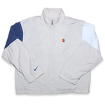 Vintage Nike Tennis Track Jacket with nice color blocking on shoulders