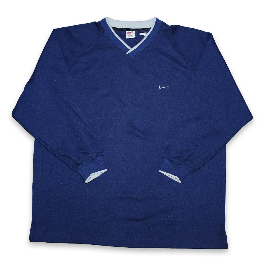 Vintage Nike V-Neck Sweater XXL