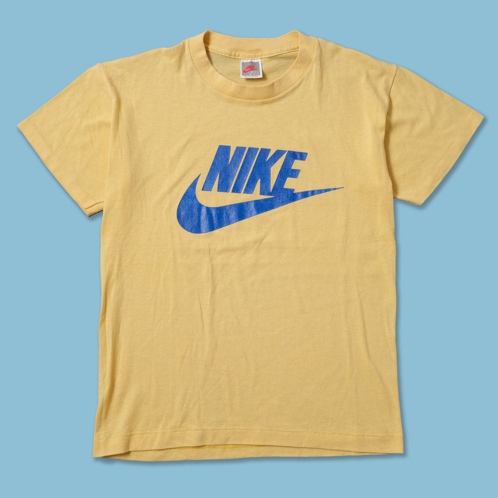 Vintage 80s Nike Logo T-Shirt Medium
