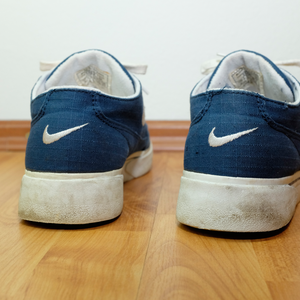 Vintage Nike GTS Canvas Sneakers Blue/White