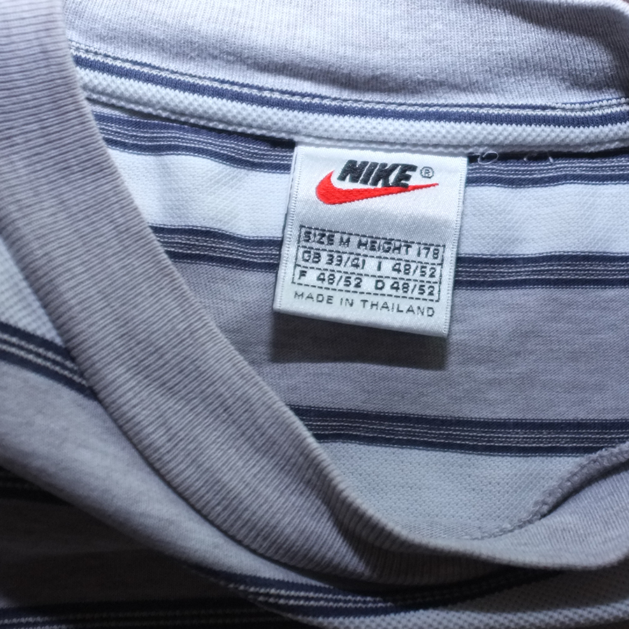 Vintage Nike Stripe T-Shirt Medium - Double Double Vintage