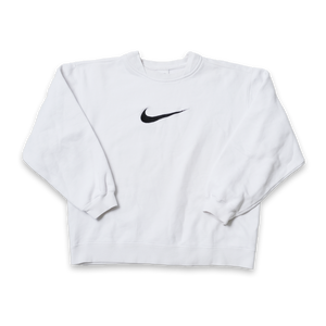 Vintage Nike Swoosh Sweater Kids Medium