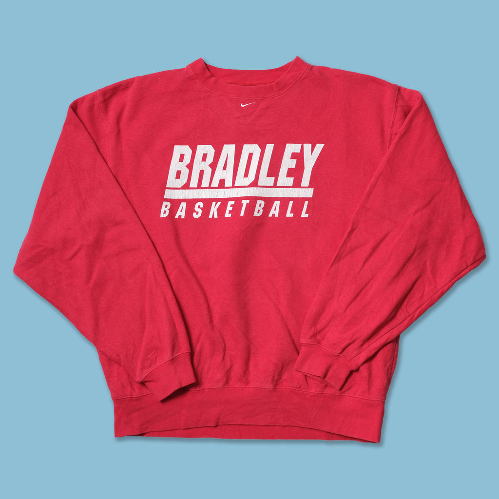 Vintage Nike Bradley Basketball Sweater Medium / Large