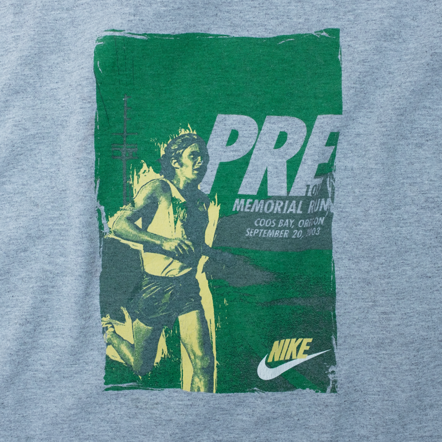 Vintage Nike Memorial Run T-Shirt XLarge