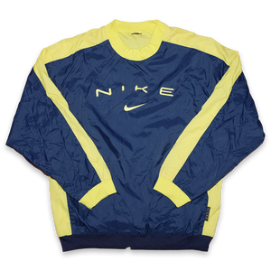 Vintage Nike Windbreaker Pullover Medium - Double Double Vintage