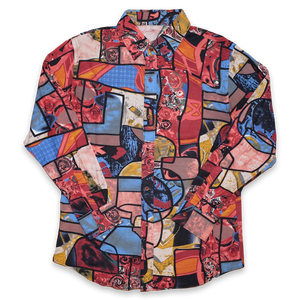 Vintage abstract Shirt Medium / Large