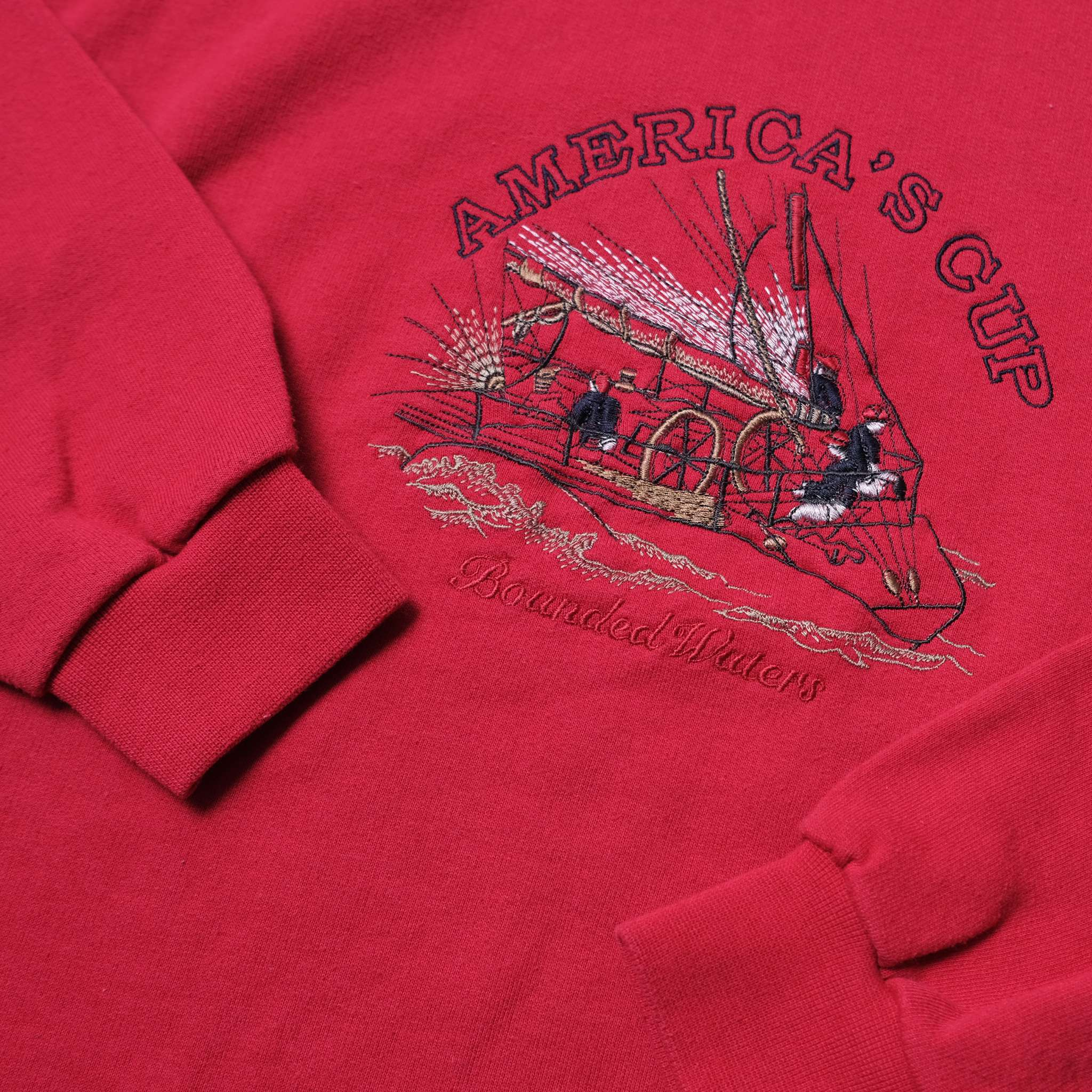 Vintage Americas Cup Sweater Large