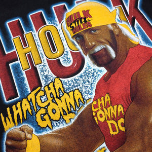 Vintage Hulk Hogan T-Shirt Medium