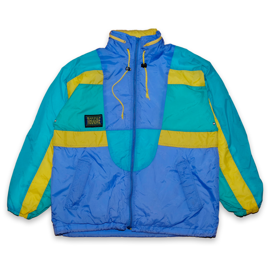 Color Blocking Rainjacket Large