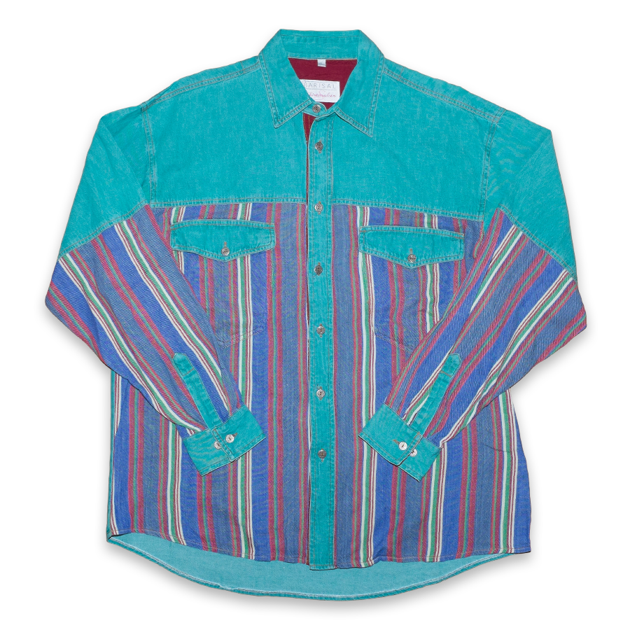 Vintage Multicolored Shirt XLarge