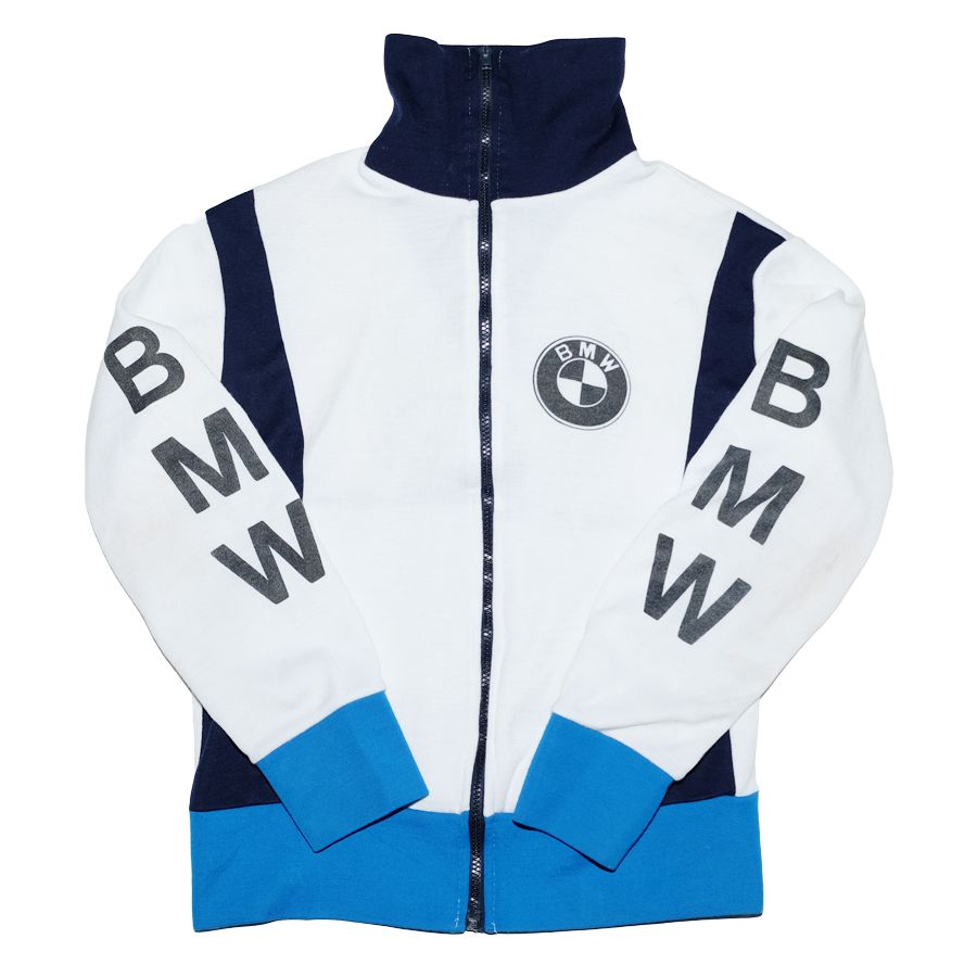 Vintage BMW Sweat Jacket XSmall