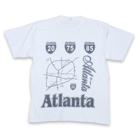 Vintage Atlanta T-Shirt Large