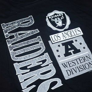 Vintage Chalk Line Los Angeles Raiders T-Shirt from ´93