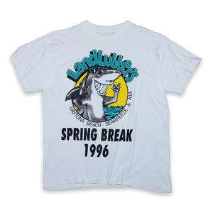 Spring Break 1996 T-Shirt Large/XLarge - Double Double Vintage
