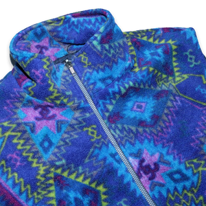 Vintage multicolored Vest Large / XLarge - Double Double Vintage