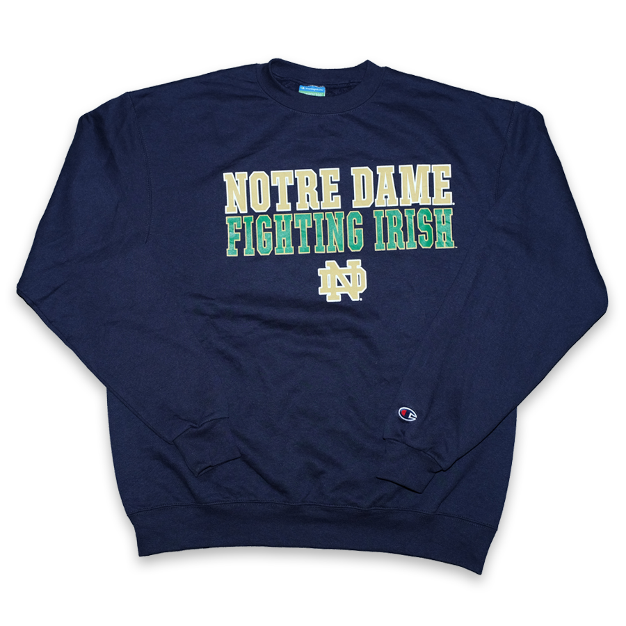 Vintage Champion Notre Dame Sweater Large