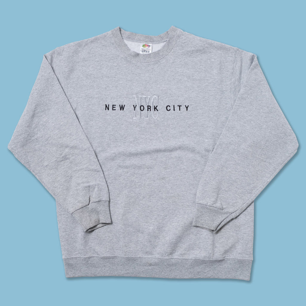 Vintage New York City Sweater Large