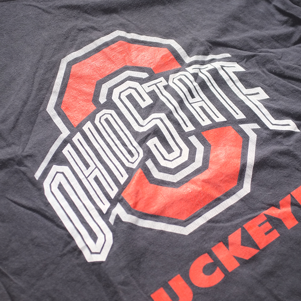 Ohio State Buckeyes Football T-Shirt Grey/Red/White