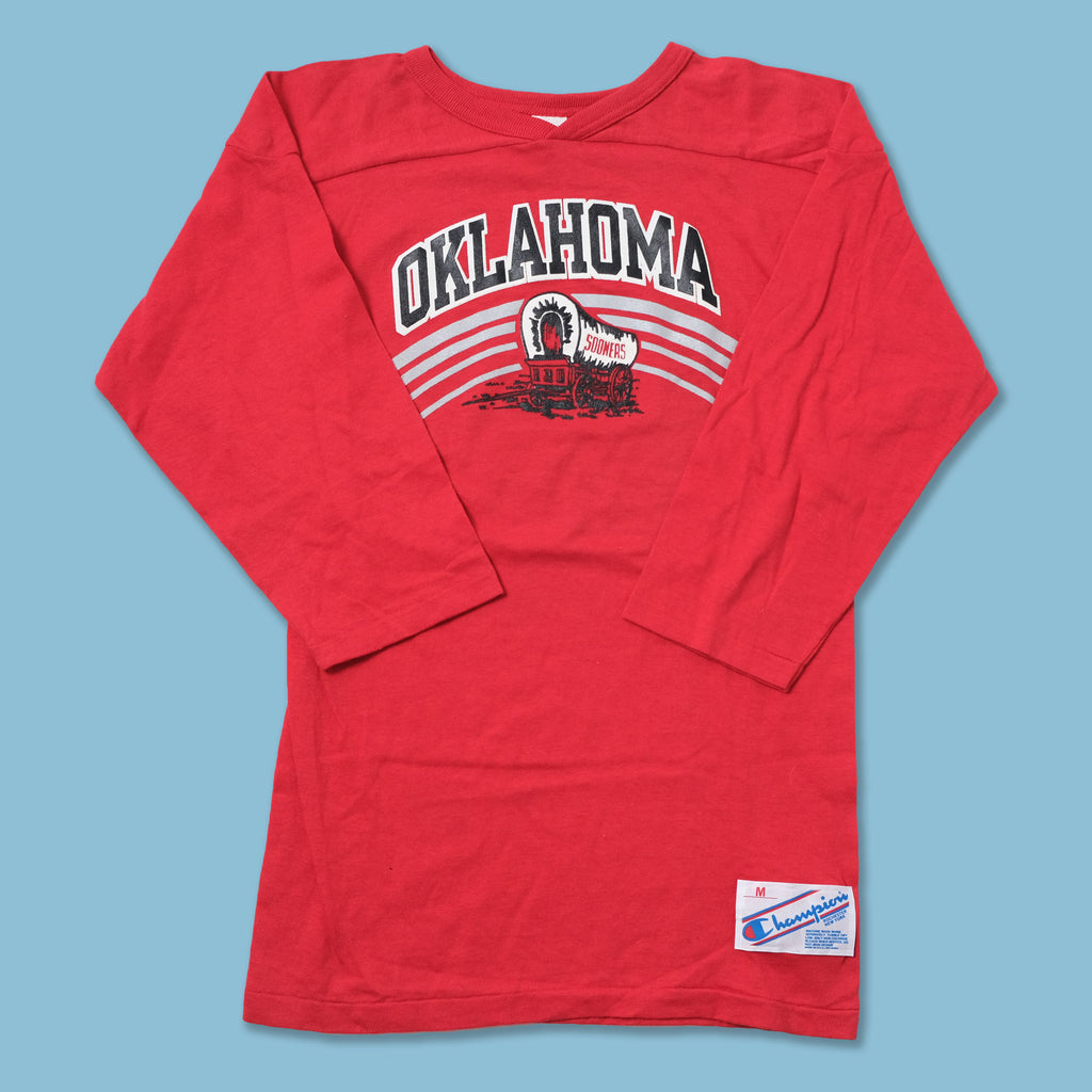 Vintage Deadstock Champion Oklahoma Sooners Longsleeve Medium