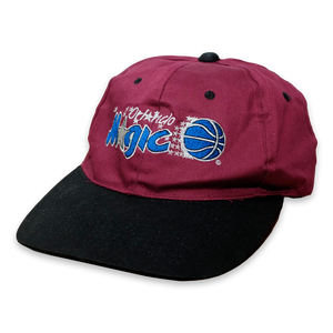 Vintage Orlando Magic NBA Snapback Burgundy/Black