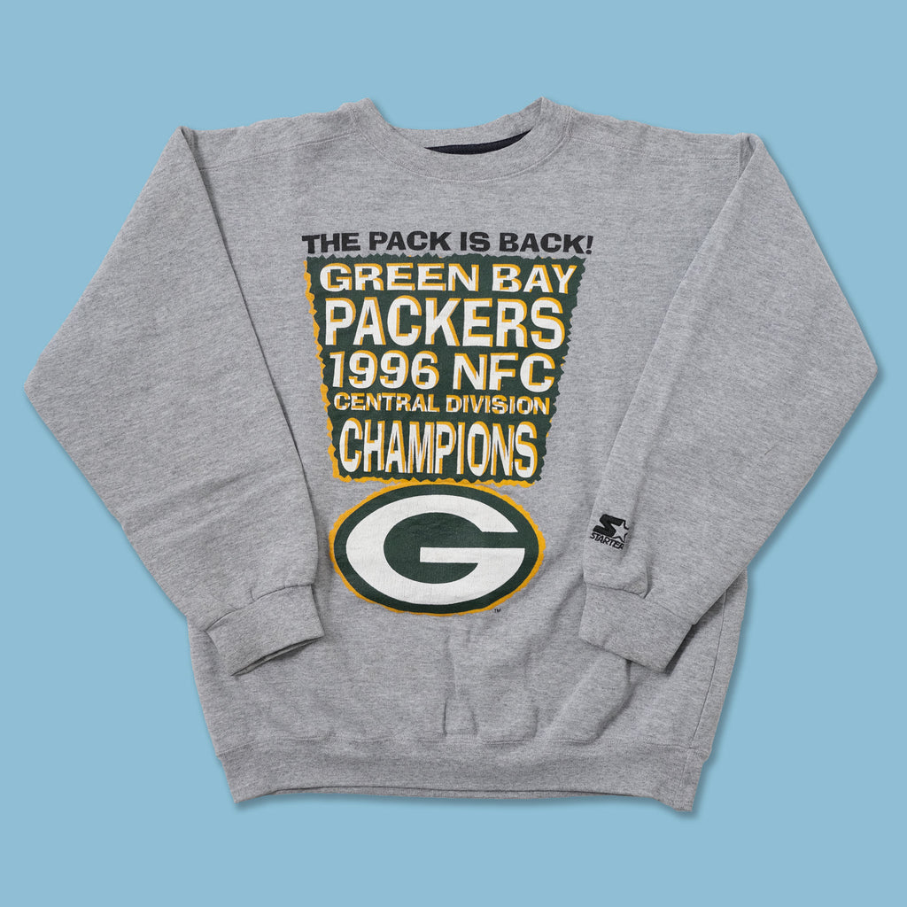 Vintage Starter Green Bay Packers Sweater Small
