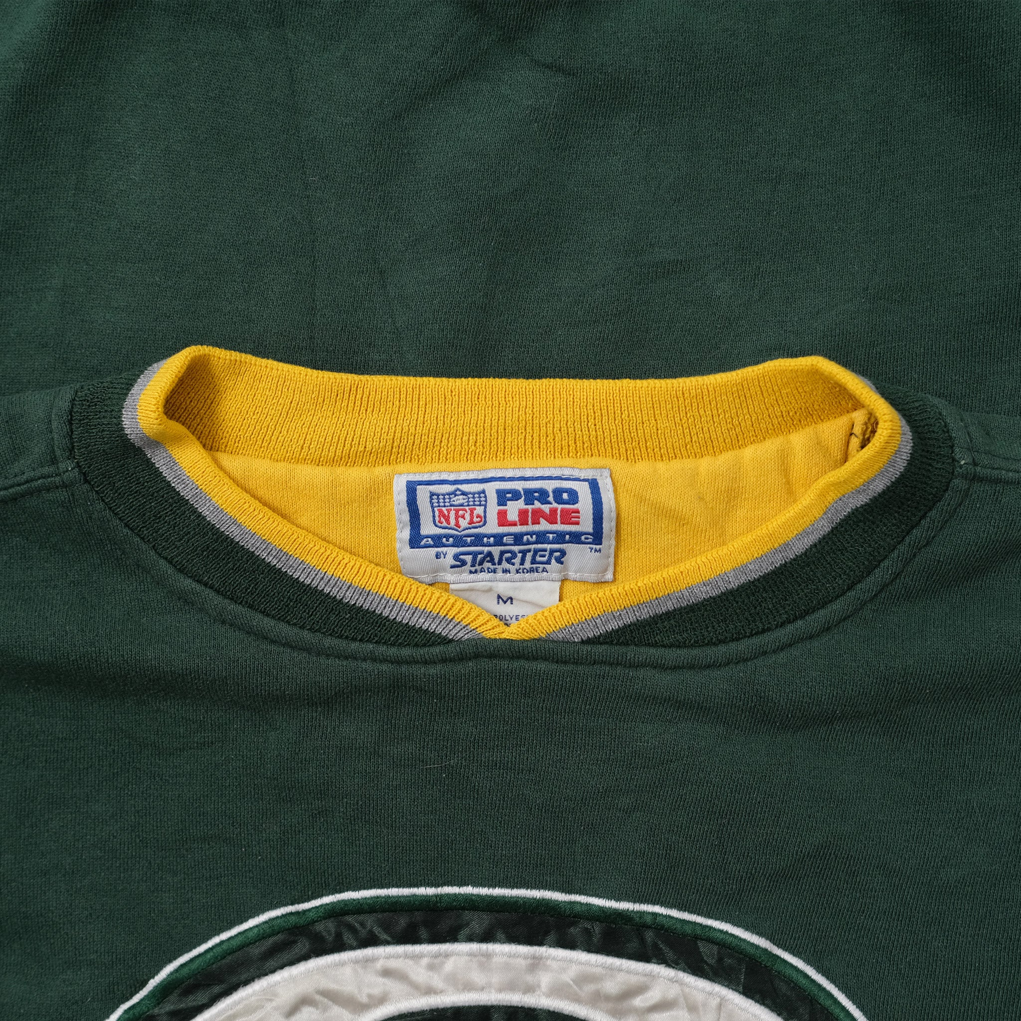 Vintage Starter Greenbay Packers Sweater Medium