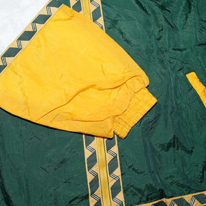 Vintage Greenbay Packers Track Jacket Large