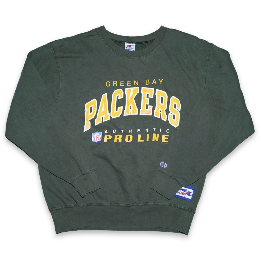 Vintage Champion Greenbay Packers Sweater XLarge