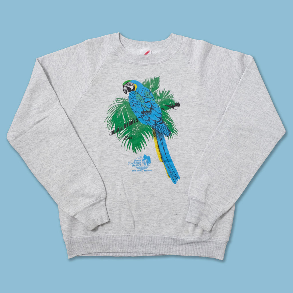 Vintage Parrot Sweater Medium