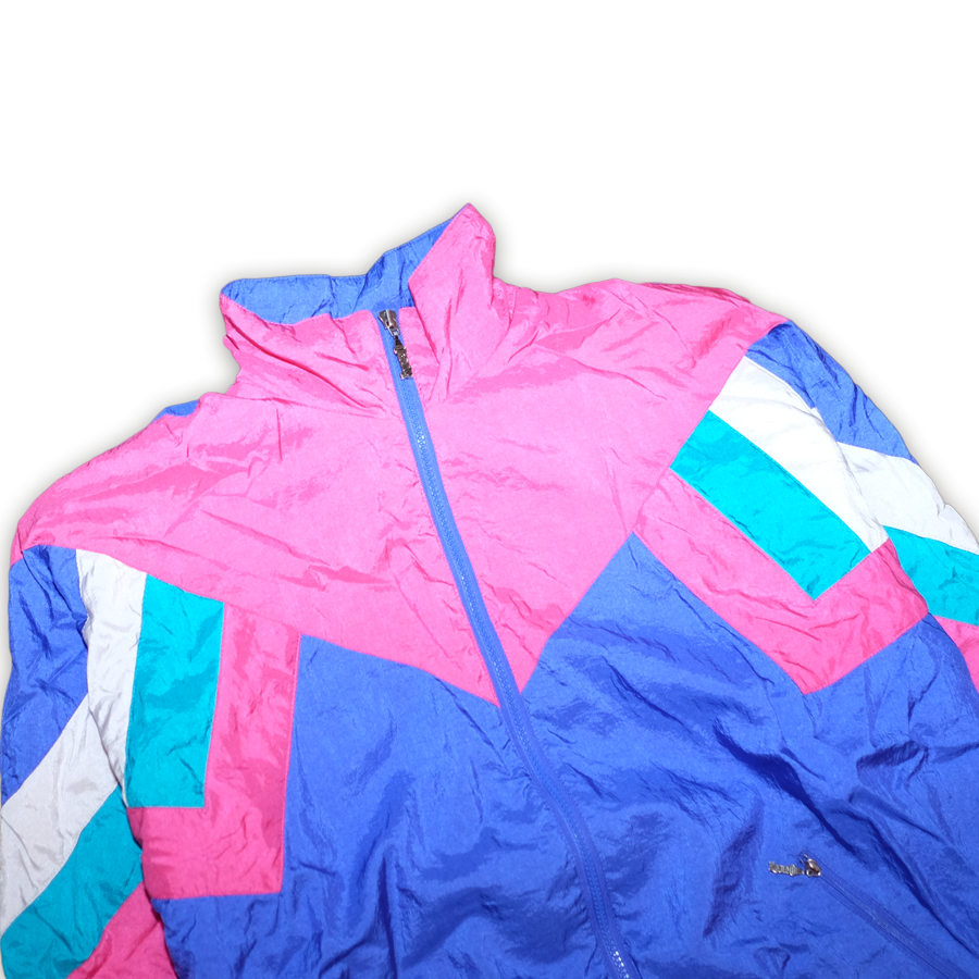 Vintage Color Blocking Trackjacket Multicolor