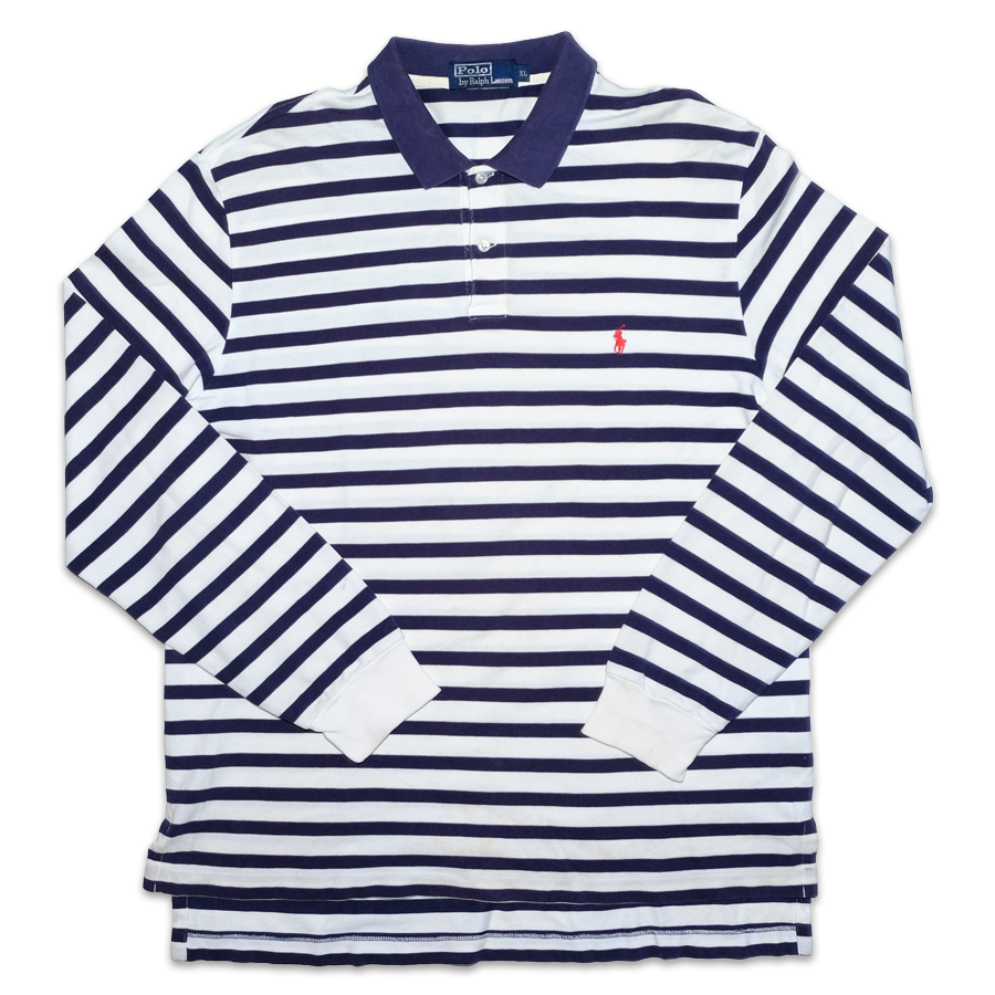 Polo Ralph Lauren Striped Rugby Polo XLarge