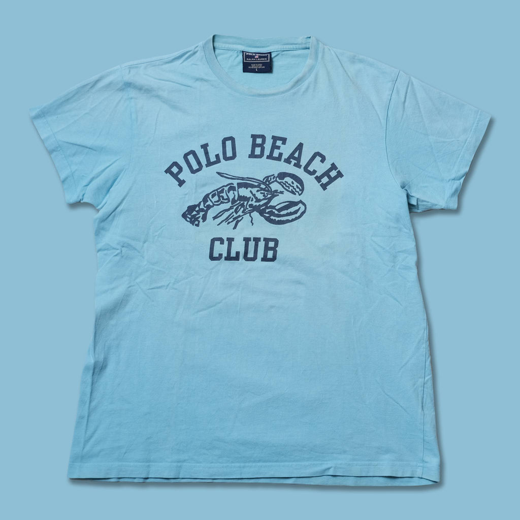 Vintage Polo Sport Beach Club T-Shirt Large