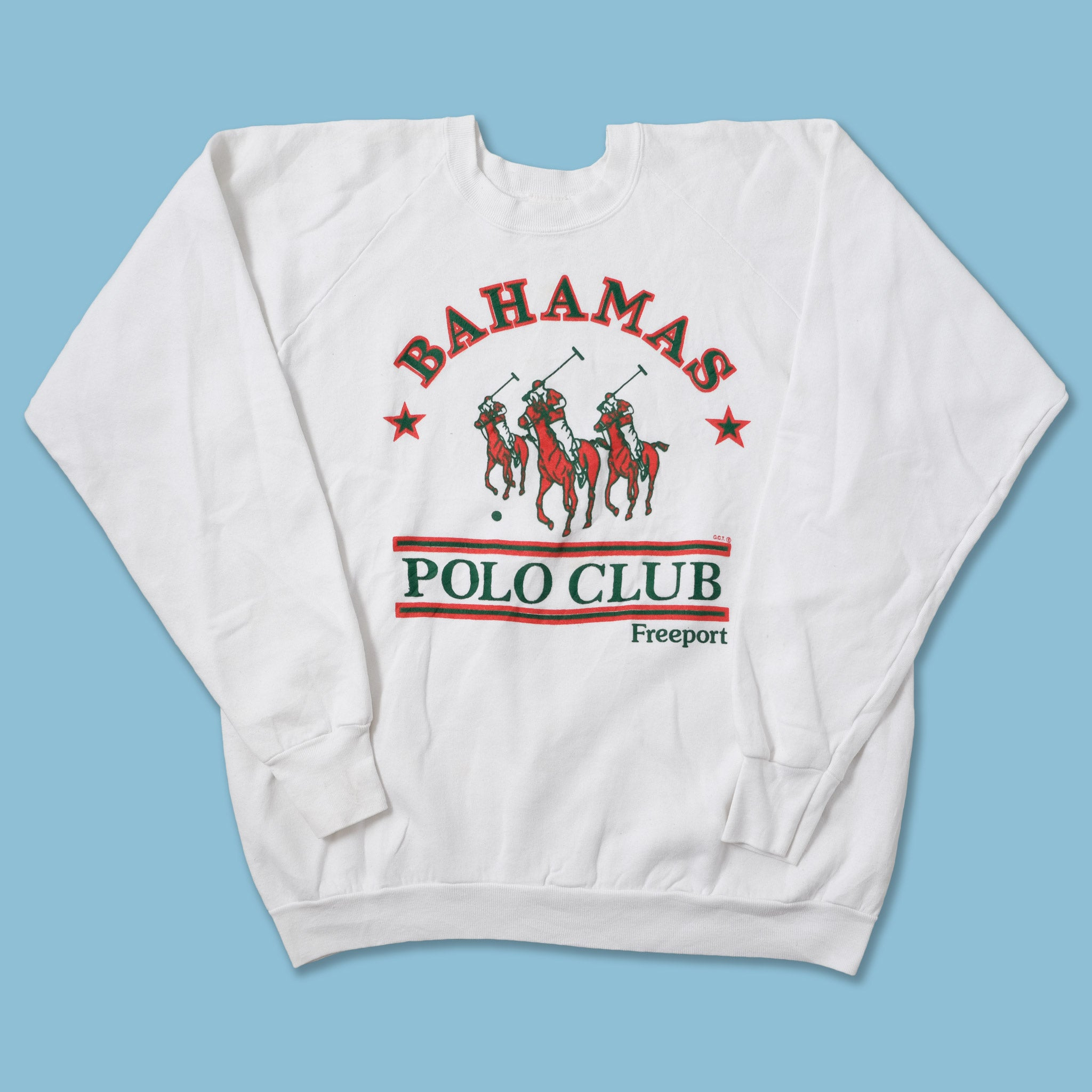 Vintage Bahamas Polo Club Sweater Large