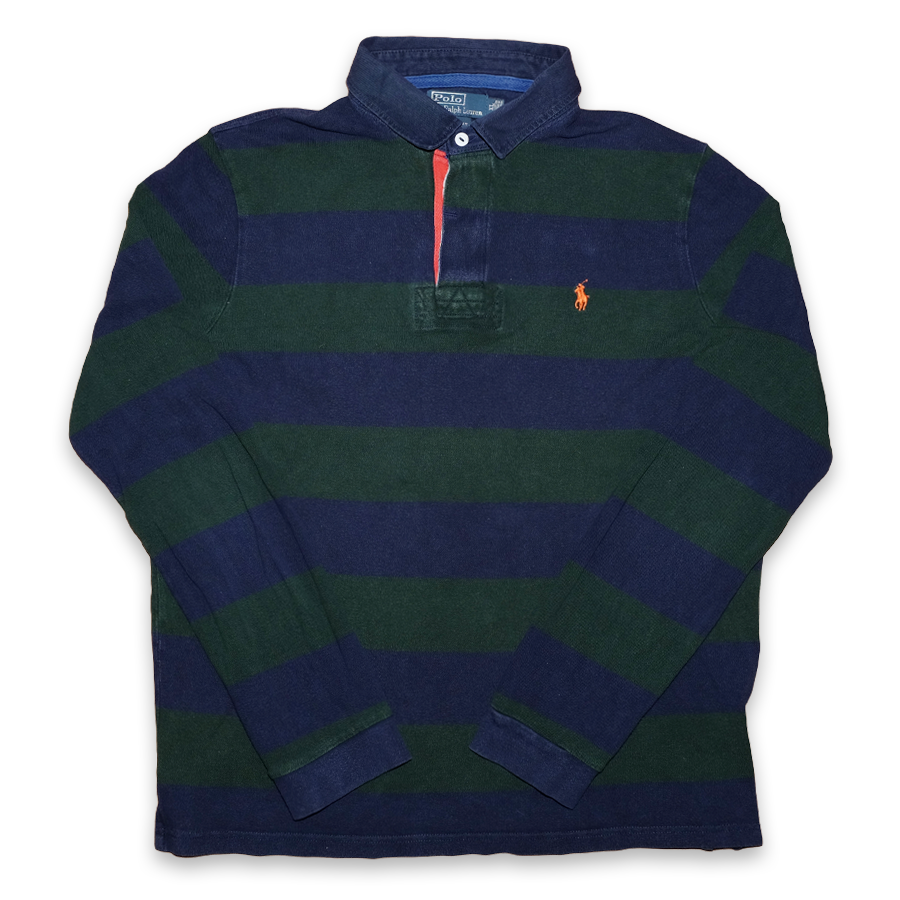 Vintage Polo Ralph Lauren Rugby Long Polo Shirt