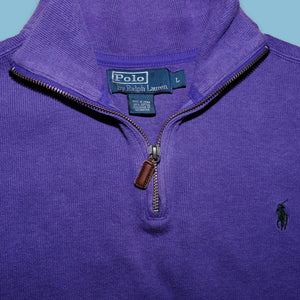 Vintage Polo Ralph Lauren Q-Zip Large