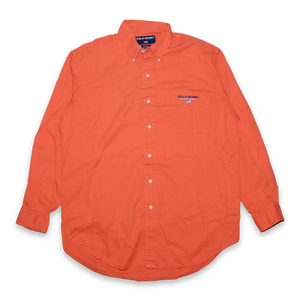 Orange Polo Sport Ralph Lauren Button Down Shirt