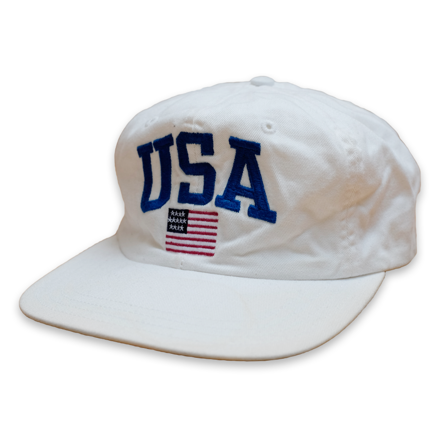 Polo Sport Ralph Lauren USA Strapback White/Blue