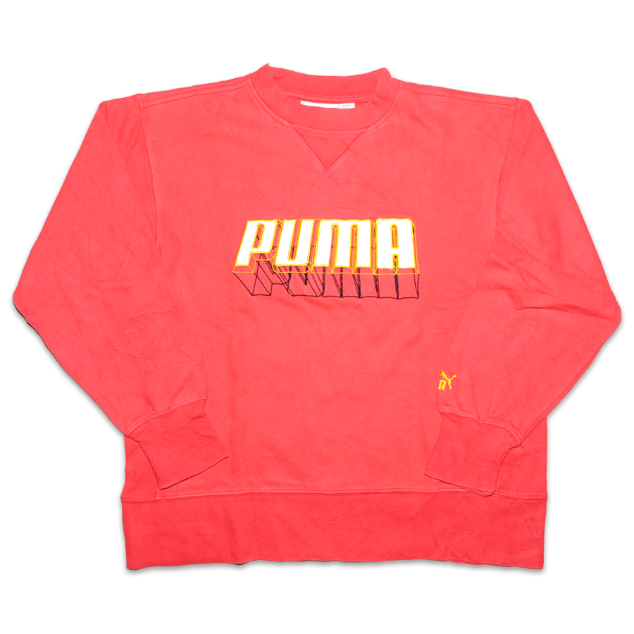 Vintage Puma Sweater Small - Double Double Vintage