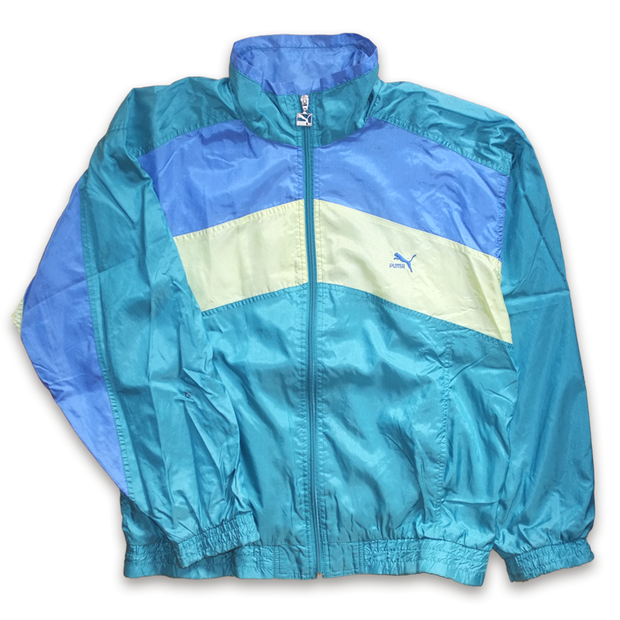 Vintage Puma Trackjacket Multicolor