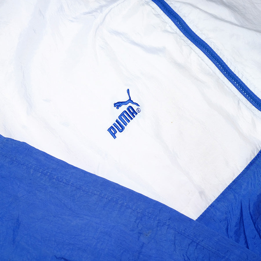 Vintage Puma Color Block Trackjacket