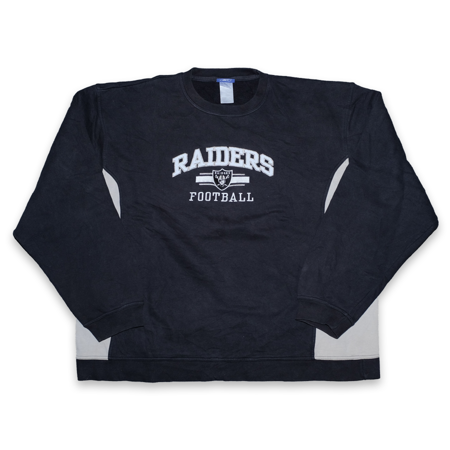 Vintage Reebok Oakland Raiders Sweater XXL