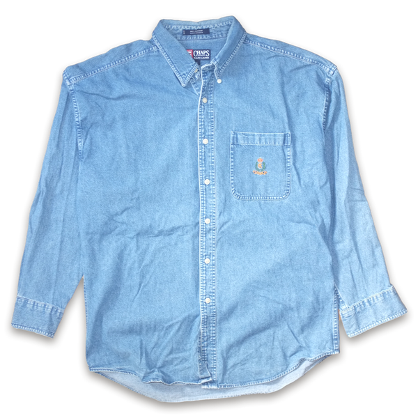 Ralph Lauren Chaps Denim Button Down Shirt