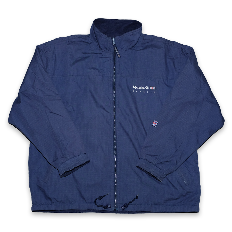 Vintage Reebok Fleece Jacket Large / XLarge