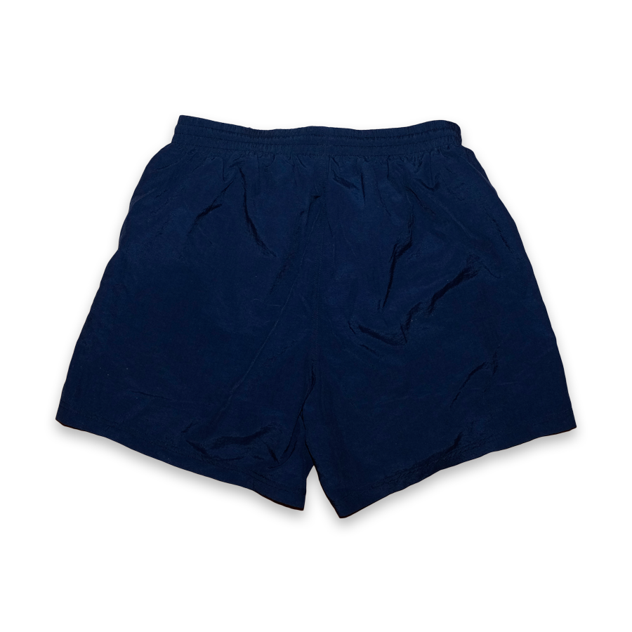 Vintage Reebok Shorts with sideways Logo Navy