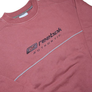 Vintage Reebok Sweater Small - Double Double Vintage