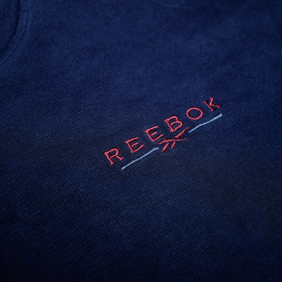 Vintage Reebok Chest Logo Embroidery Crewneck Sweatshirt